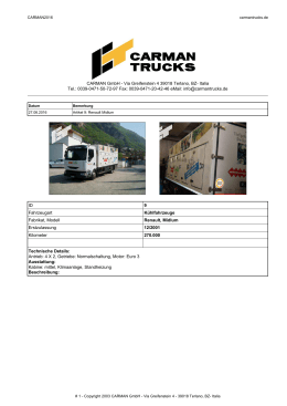 CARMAN GmbH - Via Greifenstein 4 39018 Terlano, BZ