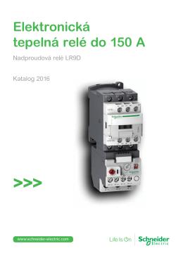 Elektronická tepelná relé do 150 A