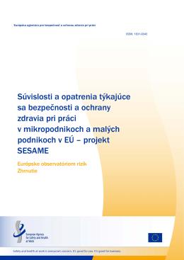 Zhrnutie - EU-OSHA