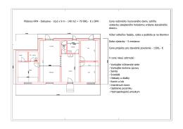 Pôdorys RPH - Exklusive - 16,6 x 9 m - 140 m2 = 79 990,