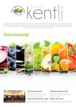 Gıda Güvenliği - Türkiye Sağlıklı Kentler Birliği