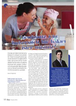 Anne & Bebek Dergisine Röportaj Verdik!