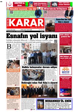 24 Haziran 2016 - Kesin Karar Gazetesi