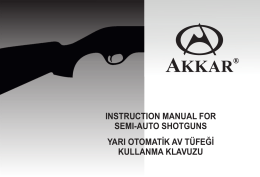 AKKAR TK-222 Semi Auto Shotgun Part Diagram 12ga