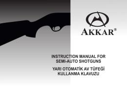 AKKAR TK-222 Semi Auto Shotgun Part Diagram 12ga