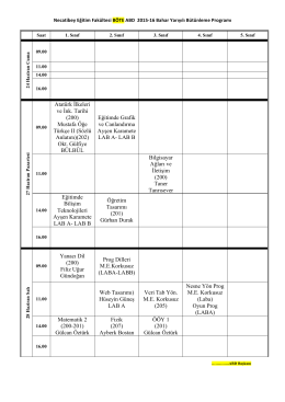 BÖTE - Necatibey Eğitim Fakültesi