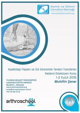 Üst Ekstremite Tendon Transferleri (2 Eylül 2016)