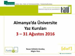 3. Almanya`da Üniversite Yaz Kursları 2016 Datei