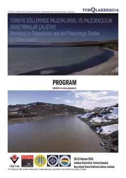 Türkiye Göllerinde Paleoiklimsel ve Paleoekolojik Araştırmalar