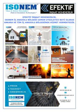 efektif inşaat mühendislik, ısonem iç anadolu bölgesi - Kamu-Der