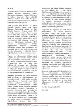 SUNUŞ Afyon Kocatepe Üniversitesi İktisadi ve İdari Bilimler
