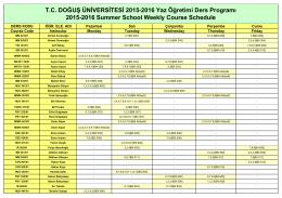 2015-2016 Yaz Ders Programı 24.06.2016.xls