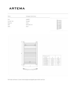 Tanım Havlupan Oval Formlu Kod A44855 Armatür Tipi