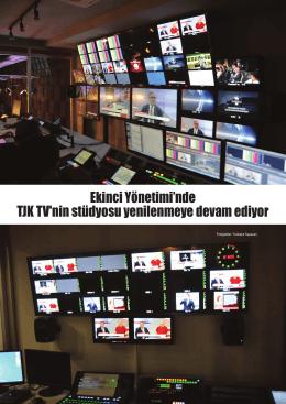 TJK TV`nin yeni stüdyosunda 90.Gazi Koşusu`nun