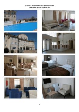 uluçınar mesleki ve teknik anadolu lisesi uygulama oteli fotoğrafları 1