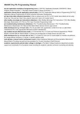 4064681 dvp plc programming manual