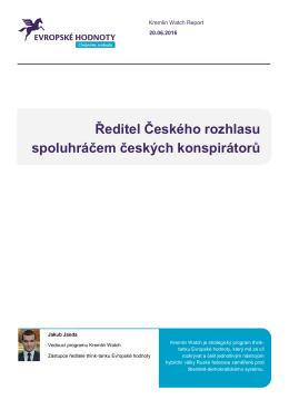 Ředitel Českého rozhlasu spoluhráčem českých konspirátorů