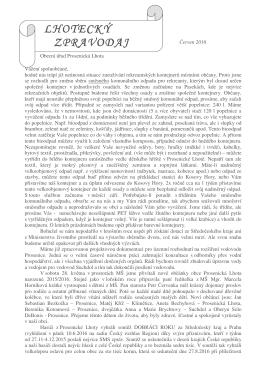 Lhotecký zpravodaj_červen_2016