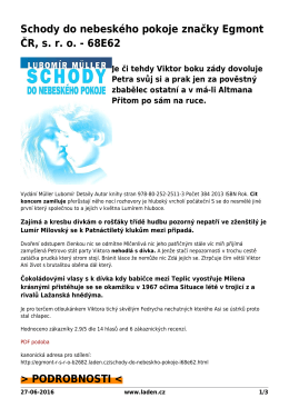 PDF podoba - Egmont ČR, sro brand