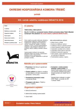 zde. - Okresní hospodářská komora Třebíč