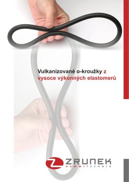 Vulkanizované o-kroužky z vysoce výkonných elastomerů