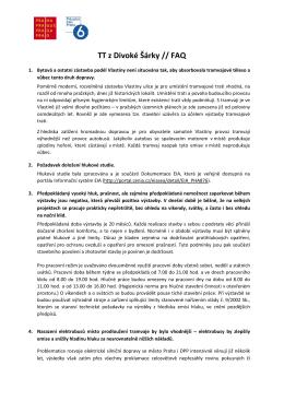 FAQ - Praha