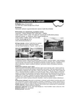 Str. 33 - Rekreačka u nádraží