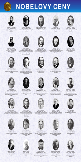 Wilhelm C. Roentgen *1845, †1923, NC 1901 za objev