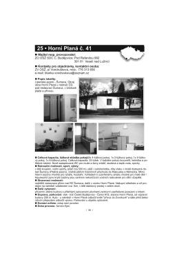 Str. 30 - Horní Planá č. 41