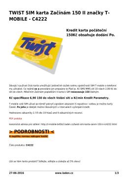 PDF podoba - T-MOBILE brand