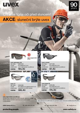 AKCE: sluneční brýle uvex