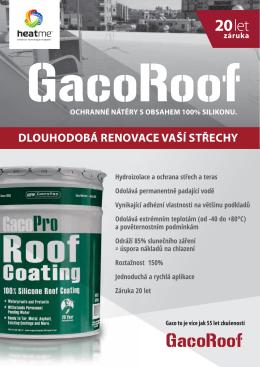 GacoRoof - HEAT ME a.s.