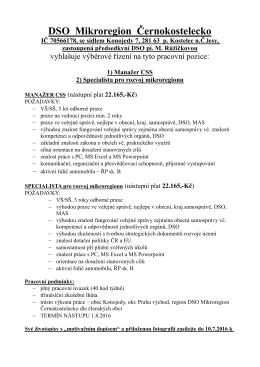 DSO Mikroregion Černokostelecko