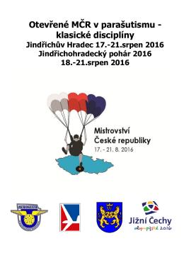Propozice - Aeroklub České republiky