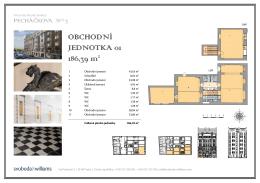 OBCHODNÍ JEDNOTKA 01 186,39 m2