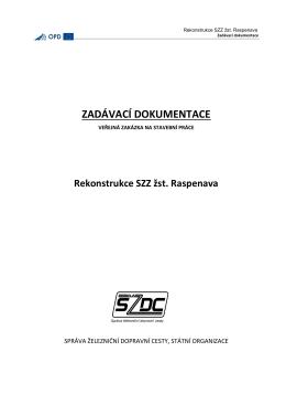 Obsah zadávací dokumentace
