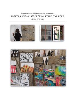 """Studenti našeho gymnázia vystavují """"Příběhy zdí"""""""