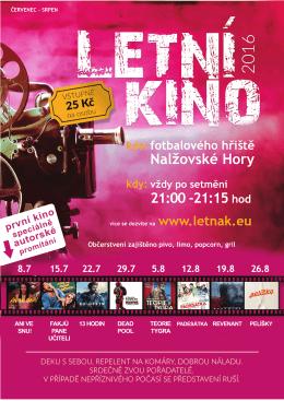 Letní kino Nalžovské Hory