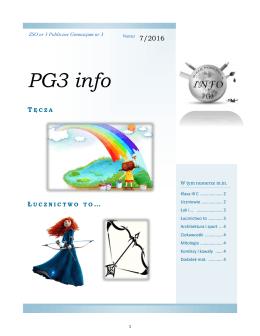 numer 7 - PG3 info