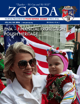 PNA – FINANCIAL PROTECTION POLISH HERITAGE PNA