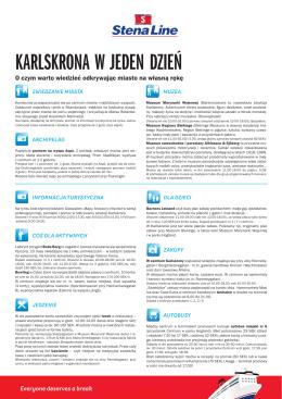 Karlskrona - warto wiedzieć