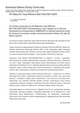 Straż Graniczna Komenda Główna Straży Granicznej