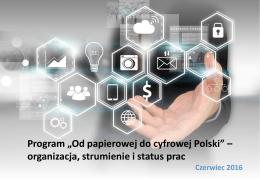 Od papierowej do cyfrowej Polski