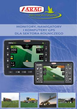 monitory, nawigatory i komputery gps dla sektora rolniczego