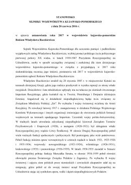 stanowisko - rok 2017 Raczkiewicza