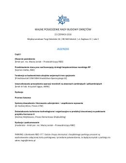 agenda - Interwizja.edu.pl