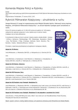 Generuj PDF - Komenda Miejska Policji w Rybniku