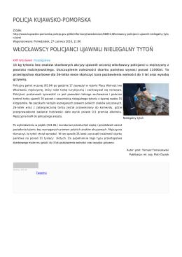 policja kujawsko-pomorska włocławscy policjanci ujawnili