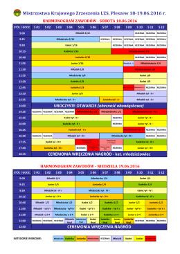 Mistrzostwa Krajowego Zrzeszenia LZS, Pleszew 18-19.06