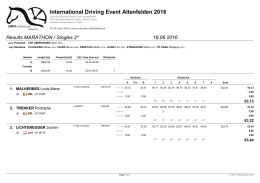 International Driving Event Altenfelden 2016